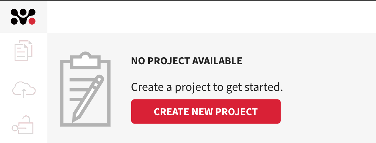 Create new project
